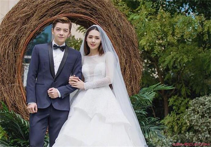 王栎鑫和郭碧婷结婚了
