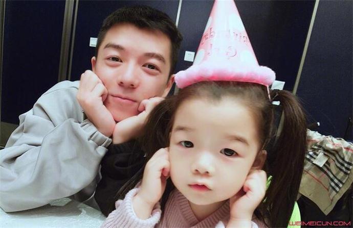 王栎鑫和女儿