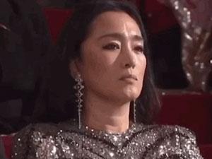 巩俐拒绝颁奖真相 详情始末曝光巩俐黑脸背