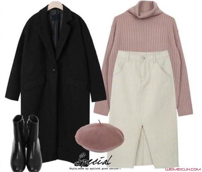 粉色上衣配什么颜色裤子好看