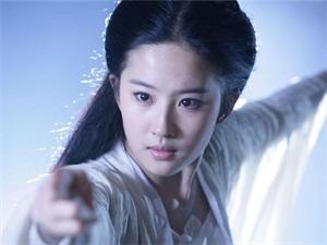 刘亦菲小龙女太难超越 仙气十足美若冰霜超