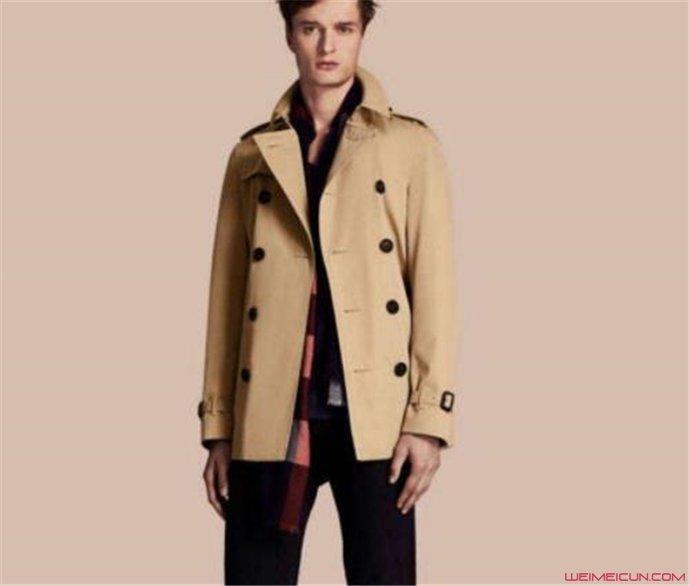 男士风衣怎么搭配好看