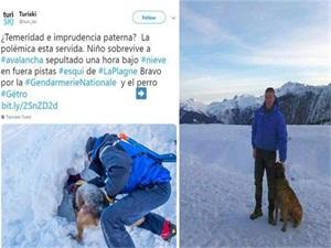 男孩滑雪遭遇雪崩 被活埋40分钟始末经过曝光