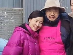 徐峥为陶虹庆生现场曝光 不一样的庆生画面