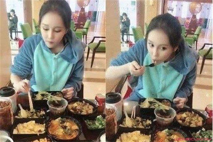 赵本山女儿吃早餐
