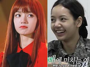 Lisa素颜照长什么样子 女神韩国节目上卸妆