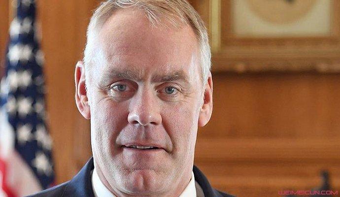 前任美国内政部长瑞安·津克