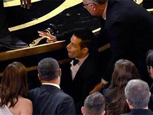 奥斯卡影帝摔下台 回顾事发经过马雷克为何