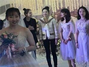 娜扎接到新娘捧花 现场大秀舞蹈婀娜多姿超吸睛