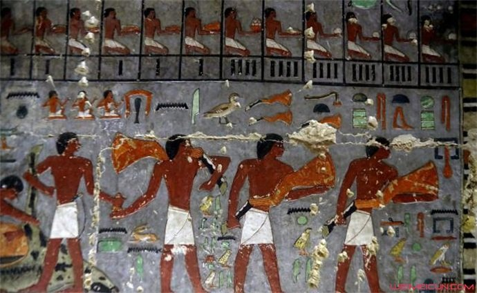 埃及古墓中的壁画