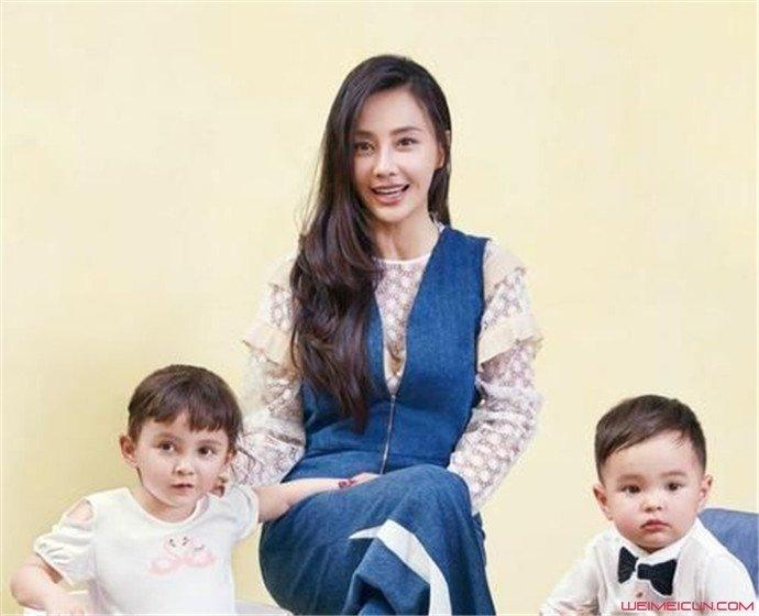 马雅舒和两个宝宝
