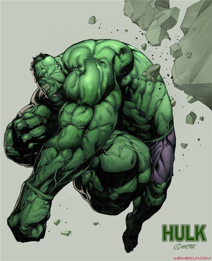 可爱的绿巨人