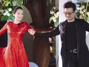 章子怡热舞破二胎传闻 红色紧身裙子尽显美