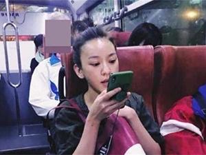 陈意涵公交被偶遇 接地气出行待人也很亲和圈粉不少