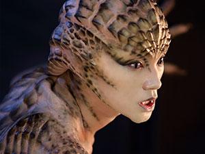 魏璐变成蛇妖的照片 选秀出身闯入好莱坞魏璐有什么来头