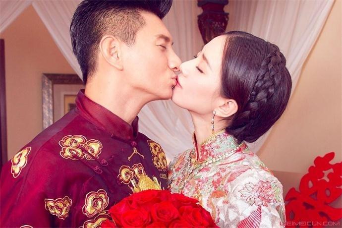 刘诗诗吴奇隆结婚照