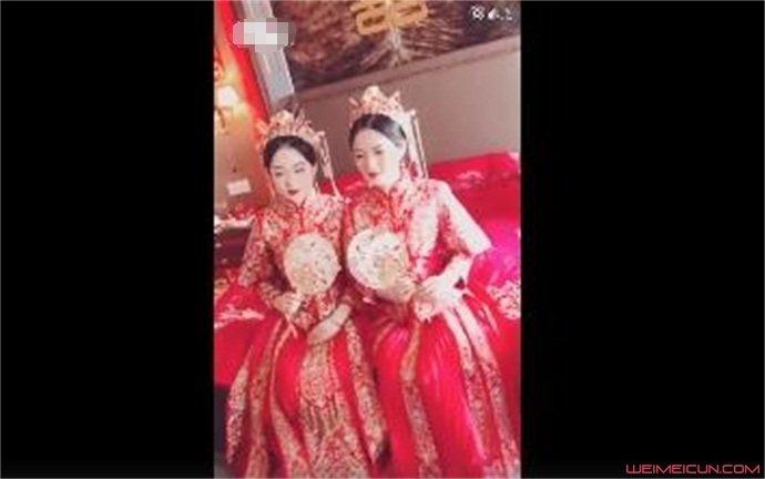 双胞胎姐妹结婚新郎认错