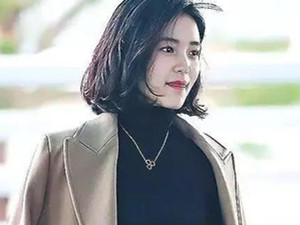 金泰梨港风短发照片 旧照曝光韩国又一位零整容美女走红