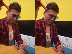 陈羽凡疑似二婚 左手手上戒指抢镜二婚妻子是何时珍吗