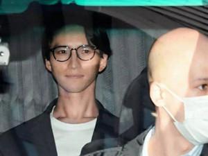 田口淳之介活动中止 吸毒被捕画面曝光他竟露出微笑