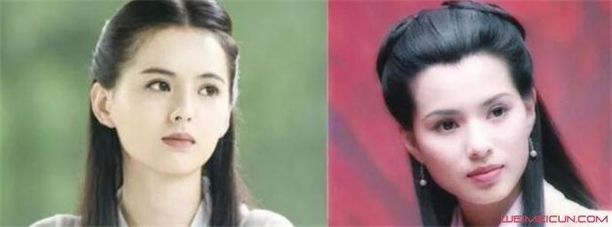 黄日莹和李若彤对比照好像