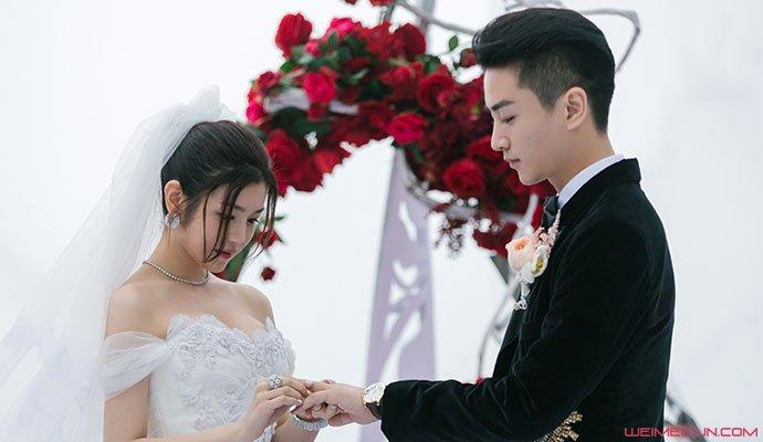 陈晓陈妍希婚礼照
