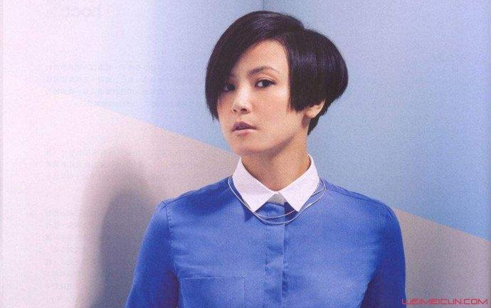 香港歌手何韵诗照片