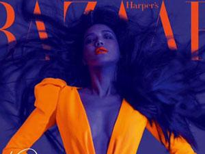 舒淇荧光橙造型 深V礼服超大胆变化大到令人