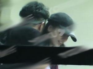 黄圣依遭神秘男搂抱 老公杨子看到这个画面