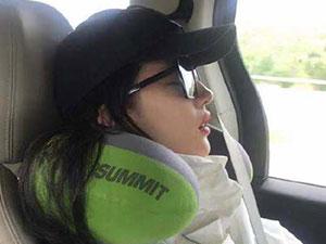 刘亦菲睡觉被偷拍 嘴巴微张性感撩人生图曝