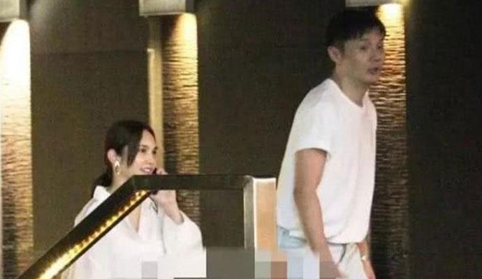 李荣浩杨丞琳合体 两人现身台湾照片被曝有