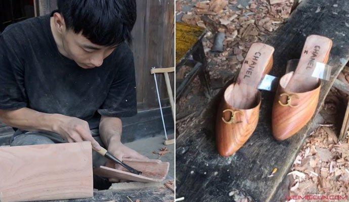 安旭用木头做奢侈品