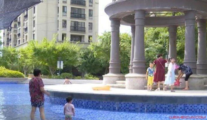 溧阳君越豪庭小区泳池