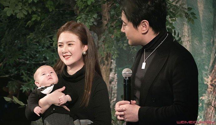 王琦儿子百日照片