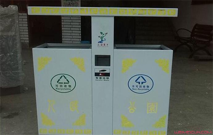 学校将不设垃圾桶