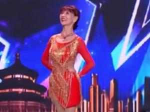 中国达人秀汪碧云个人资料 78岁跳拉丁舞简