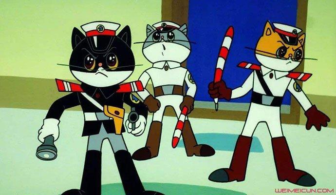 戴铁郎作品黑猫警长