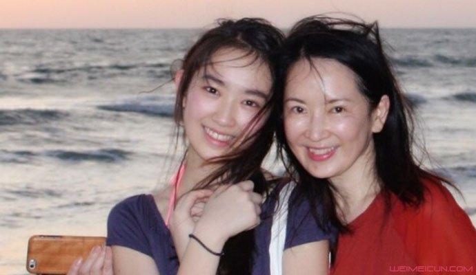 林恺铃和妈妈龚慈恩