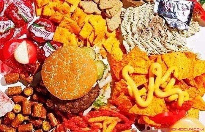 吃垃圾食品致失明