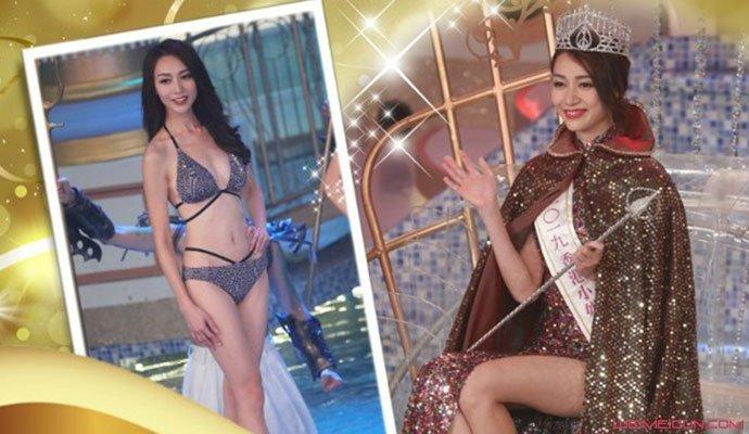 黄嘉雯获得港姐冠军