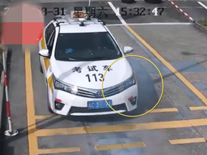 驾考差点把车烧了 因为补考紧张出现这一个危险操作