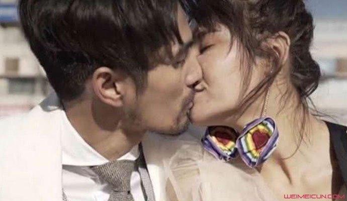 抖音莎莎和大叔亲吻照