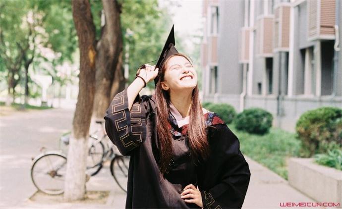 王瑛瑛毕业照