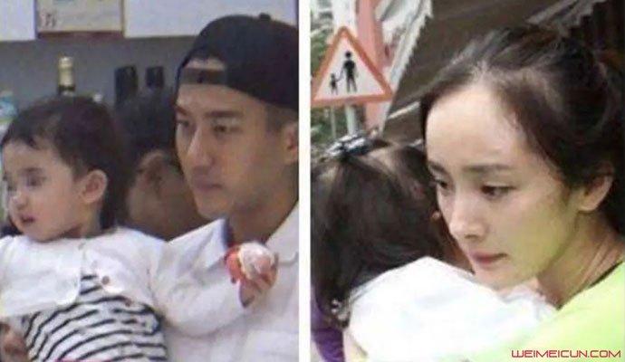 杨幂刘恺威与女儿