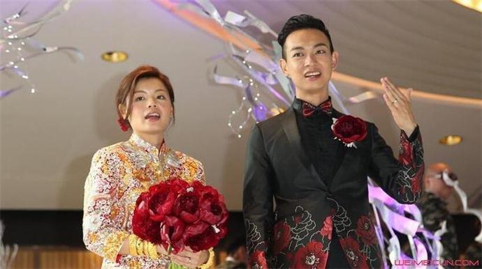 香港明星梁烈唯结婚了