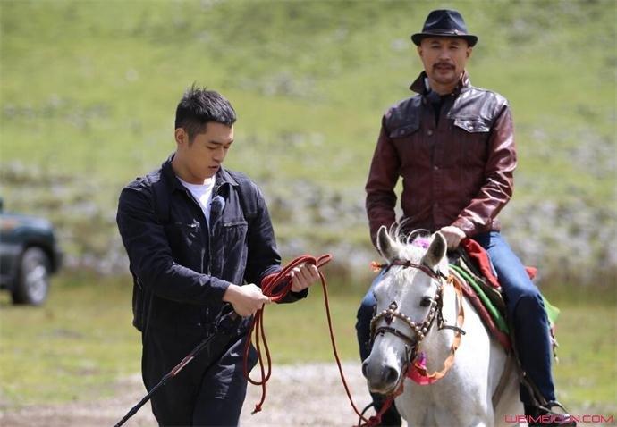 徐锦江和儿子徐菲