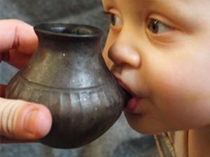史前人类也用奶瓶 详情经过曝光古代奶瓶长
