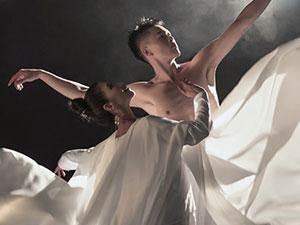 湖北籍舞蹈家夏冰最新剧照:古风。生命。诺言