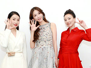 张庭陶虹林志玲同台 三大女神二次同台比美