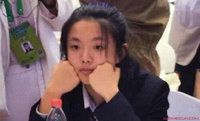 15岁女科学家谈方琳